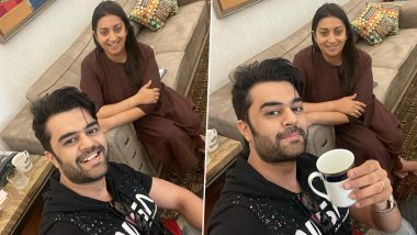 Maniesh Paul Visits Smriti Irani at Her Home, Shares How 'Kaadha' Has Replaced Tea as the Welcoming Beverage