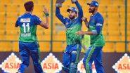 PSL 2021 Final Live Streaming Online in India: Watch Free Telecast of Multan Sultans vs Peshawar Zalmi, Pakistan Super League 6 Match in IST