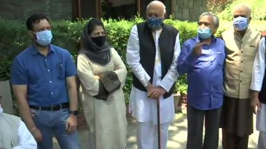 Jammu And Kashmir: People's Alliance For Gupkar Declaration to Participate in PM Narendra Modi's All Party Meet on June 24