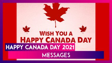 Happy Canada Day 2021 Wishes: Celebrate National Day of Canada With Messages and Greetings on July 1