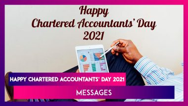 Happy National CA Day 2021 Greetings: Share Wishes and Messages To Celebrate ICAI Formation Day