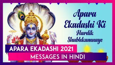 Apara Ekadashi 2021 Messages in Hindi: Wishes, Images and Greetings To Send to Vishnu Bhakts