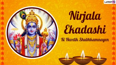 Nirjala Ekadashi 2021 Wishes in Hindi: WhatsApp Status, HD Images, Facebook Messages, SMS and Greetings To Celebrate Lord Vishnu Festival on Gyaras
