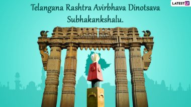 Telangana Day 2021 Greetings in Telugu: WhatsApp Messages, Status, HD Images, Facebook Quotes and SMS To Celebrate Telangana Formation Day