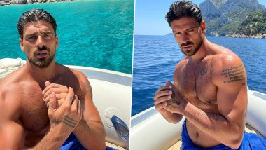 Michele Morrone Raises the Mercury Level As He Flaunts His Hot Beefed-Up Physique in New Instagram Photos, Says 'Driving Wild'
