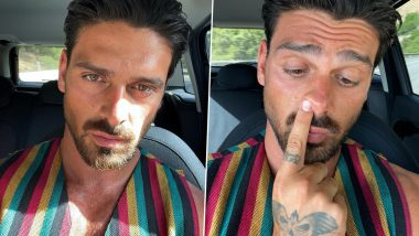 Michele Morrone Looks Super Hot in Sleeveless Stripped Outfit As He Drops Latest Pics Amid Nude Photos Leak From the Sets of 365 Days Sequel