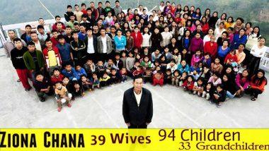 Coronavirus Hits 'World's Largest Family' in Mizoram, 12 Relatives of Late Ziona Chana Test COVID-19 Positive