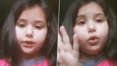 Jammu & Kashmir Caps Duration of Online Classes After Video of 6-Year-Old Girl Complaining About Excessive Work Goes Viral