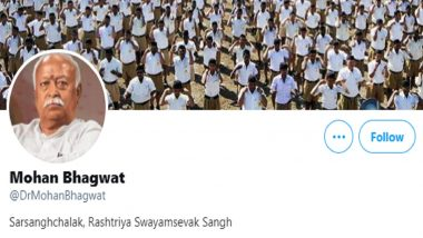 Twitter Drops Blue Tick Verified Status From Mohan Bhagwat, Other RSS Members' Accounts