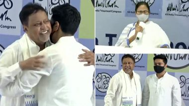Mukul Roy Back in TMC Along With Son Subranshu Roy, Quits BJP