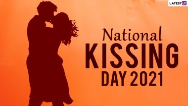 National Kissing Day 2021: Know 7 Crazy Facts About Kissing That Will Put a Big Smile on Your Face!