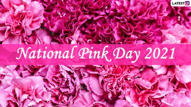 National Pink Day 2021: Know Date, History, Significance & Other Important Details About the Colour of Tenderness and Calmness