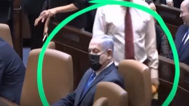 Benjamin Netanyahu Mistakenly Sits in Chair Meant for New Israeli PM Naftali Bennett, Watch Video