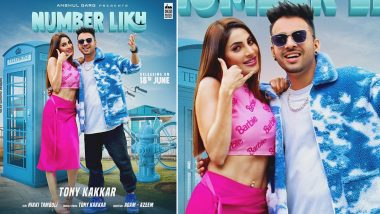 Number Likh: Nikki Tamboli Shares Poster of Her Upcoming Song Featuring Tony Kakkar (View Pic)