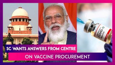 Supreme Court Wants Answers From Union Government On Vaccine Procurement