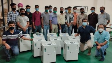 High Purity Oxygen Concentrator, Indigenously Designed and Manufactured by Walnut Medical, Being Supplied to Indian Hospitals