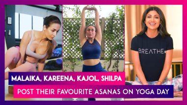 Yoga Day 2021: Malaika Arora, Kareena Kapoor, Kajol, Shilpa Shetty, Sara Ali Khan, Alia Bhatt & Others Post Their Favourite Yoga Asanas