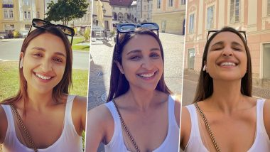 Parineeti Chopra Shares a Happy Picture While Enjoying the Sunny Europe, Declares That She Takes Selfies Now