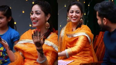 Yami Gautam Ties the Knot With Uri Director Aditya Dhar; Actress Shares Pictures From Her Mehendi Ceremony