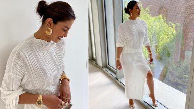 Priyanka Chopra's All-White Sheer Ensemble Celebrating The Pride Month Is Chic (View Pics)