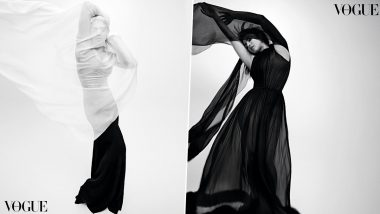 Priyanka Chopra Stuns In Gorgeous Black Gown as She Features in Vogue Australia June Edition; See PHOTOS