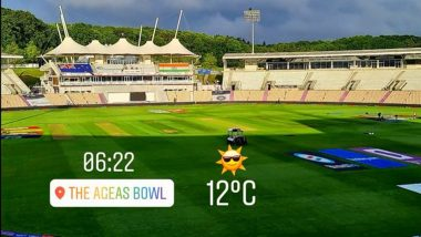 Southampton Weather Update: Dinesh Karthik Shares Latest Photo from IND vs NZ WTC Final Venue
