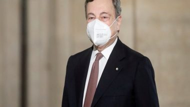 Italian PM Mario Draghi Receives Pfizer COVID-19 Vaccine as Second Dose After AstraZeneca