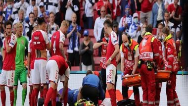 Christian Eriksen Health Update: Mid-Fielder Awake, Stabilised; Euro 2020 Match Between Denmark and Finland to Resume Later Tonight