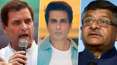Wayanad Internet Connectivity: Rahul Gandhi Writes to Ravi Shankar Prasad Seeking Help; Sonu Sood Promises to Get Mobile Tower Installed