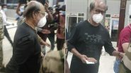 Rajinikanth Spotted At The Airport Leaving For The US To Get A Routine Health Check-Up (Watch Video)