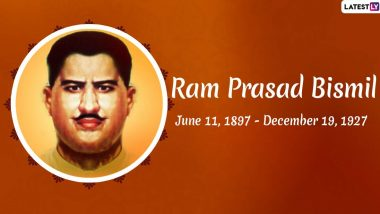 Pandit Ram Prasad Bismil Birth Anniversary: Remembering Famous Quotes and Slogans by The Great Indian Revolutionary