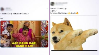 'Relationship Status' Funny Memes on Twitter Will Make You Laugh Insanely