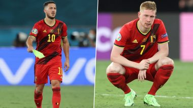 Euro 2020: Eden Hazard and Kevin De Bruyne Injured, Likely To Miss Quarter-Finals Against Italy