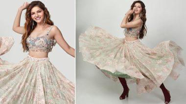 Rubina Dilaik Looks Like a Modern-Day Princess In a Stunning Desi Outfit (VIew Pics)