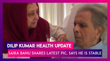 Dilip Kumar Health Update: Saira Banu Shares Latest Photo Of The Legend, Says He Is Stable, Might Be Discharged Soon