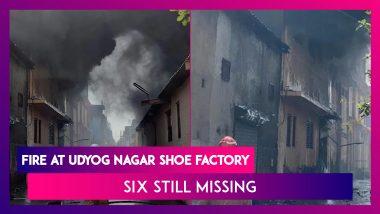 Udyog Nagar Shoe Factory Catches Fire: Six Still Missing After Massive Blaze Doused