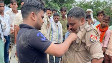 Aligarh Inspector Ashish Kumar Saves Drowning Person in Gangnahar, SSP To Honored with Rs 25,000