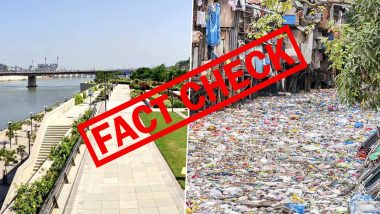 Mumbai's Mithi River Filled With Garbage And Plastic Waste? Old Image From Philippines Goes Viral With False Claim