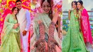 Sana Sayyad and Imaad Shamsi's Pre-Wedding Festivities Begin; Divya Drishti Actress Looks Pretty at Her Mehendi Ceremony!