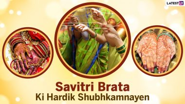 Savitri Brata 2021 Images & Vat Savitri HD Wallpapers for Free Download Online: WhatsApp Messages, Romantic Quotes and Greetings to Send Festive Regards to Your Loved Ones
