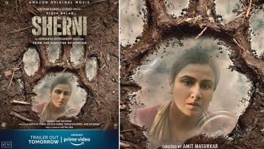 Sherni: Vidya Balan's Movie To Have Its Trailer Release Tomorrow At 12 PM (View Pic)