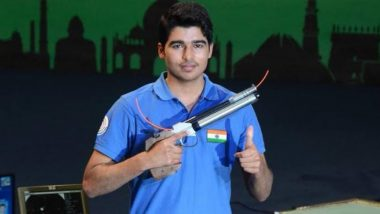 Shooter Saurabh Chaudhary Clinches Bronze Medal in men's 10m Air Pistol Event in Osijek