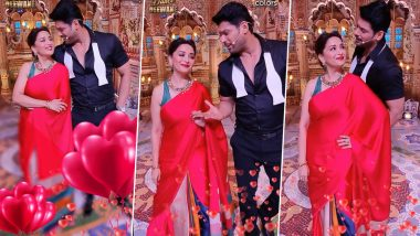 Madhuri Dixit and Sidharth Shukla Go All Filmy on Dance Deewane 3 (Watch Video)