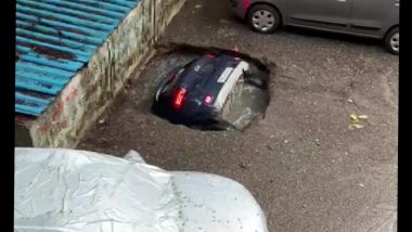 What Are Sinkholes? As Car Gets Swallowed by Sinkhole in Mumbai, Here's Looking At What They Are And Why They Occur