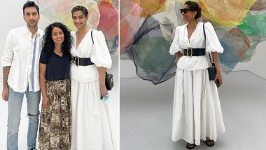 When Sonam Kapoor Oozed Elegance In Her All White Attire (View Pics)