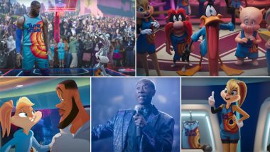 Space Jam: A New Legacy Trailer 2 Out! LeBron James and the Looney Tunes Squad Fight It Out in a Basketball Match of Their Lives (Watch Video)