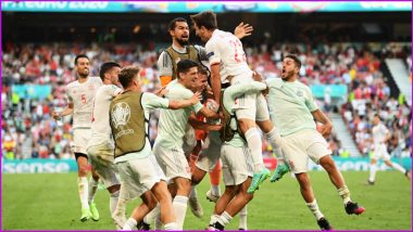 Switzerland vs Spain, UEFA Euro 2020 Live Streaming Online & Match Time in IST: How to Get Live Telecast of SUI vs SPN on TV & Free Football Score Updates in India