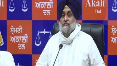 India News | SAD to Prepare Election Manifesto for 2022 Polls by October: Sukhbir Singh Badal