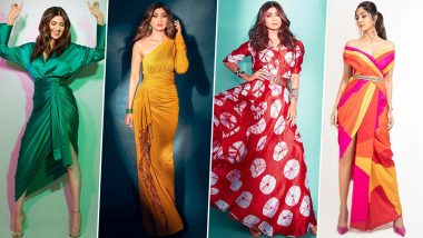 Shilpa Shetty Kundra Birthday: Traditional Silhouettes With Contemporary Twist, That's How She Likes Her Every Outfit (View Pics)