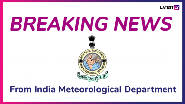 Light to Moderate Intensity Intermittent Rain Would Occur over and Adjoining Areas of ... - Latest Tweet by India Meteorological Department
